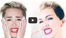 ลองม๊ะ แต่งหน้าเป็นสาวซ่า Miley Cyrus