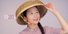 แต่งหน้า 10 ลุค 10 ยุค ในร้อยปีที่ผ่านมา แบบฉบับสาวฮ่องกง