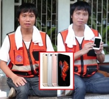 สตรองมากอ่ะ!!เมื่อพี่วินมอไซค์ มารีวิว iPhone 6s ฮาเลย!!