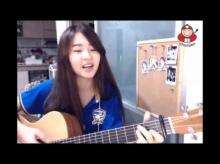 วิวพุ่ง สาวหมวยน่าร๊ากกก  Cover เพลง ช้างศึก เชียร์ทีมชาติไทย (คลิป)