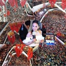 อั้ม พัชราภา - เวียร์ ศุกลวัฒน์ ในงานช่อง 7 HD Festival ที่ จ.สงขลา