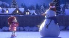 Lily and the Snowman อนิเมชั่นสั้นๆซึ้ง ข้อคิดดี
