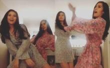 """เต้นกันมันส์มาก!! """"มารีญา"""" แดนซ์ปานามากับ Miss Universe Laos ก่อนมงลงวันนี้!! (คลิป)"""