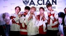 วง A.cian(เอเชี่ยน)ดีใจกระแสตอบรับที่ไทยดีมาก .