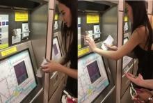 จะเกิดอะไรขึ้น เมื่อ ซุปตาร์อั้ม ต้องซื้อตั๋ว ขึ้นรถไฟใต้ดินครั้งแรก!!(คลิป)