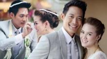 """""""ตู่ ภพธร"""" ควง """"นุช นุชนันท์"""" ฉลองแต่งงานสุดหวาน"""