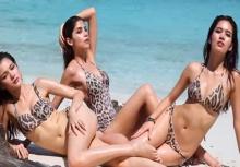 3 สาวThe Faceกับเบื้องหลังถ่ายแบบชุดว่ายน้ำสุดเซ็กซี่!!