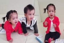 อลัน-อลิน ลูกแฝดโอปอลล์ เล่นกันยังไงร้องไห้หนักมาก