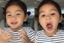 ทะเล้นตัวแม่!! น้องมะลิ โชว์ลูกคอร้องเพลงในรถ