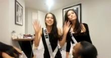 น่าร๊ากก มารีญา นำทีมเพื่อนสาวแก๊ง Miss Universe 2017 เต้นปานามาสุดมันส์(คลิป)