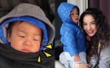 """เมื่อ """"เรซซิ่ง"""" ไปเกาหลีครั้งแรก แล้วเจออากาศที่หนาวเย็น -14 องศา ก็แค่ควันออกปากเอง!! (คลิป)"""