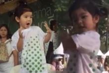 """คลิปน่ารักมะลิโชว์เต้นสะบัด งาน""""ไบกอน แชริตี้ ไนท์ รัน 2016"""
