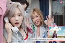แทยอนกับเบื้องหลังการถ่ายทำ MV เพลง Why และ Starlight