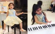 """""""น้องมะลิ"""" ไม่ธรรมดา!! โชว์ร้อง เต้น เล่นเปียโน แฟนคลับปลื้มหนักมาก!! (คลิป)"""
