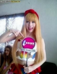 ลูกแพร์ นักร้องวง cup c ฝากผลงาน กับ TEENEE.COM