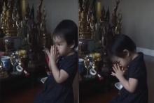 น้องปีใหม่ ลูกสาว แม่แอฟ กราบน้อมรำลึกพระมหากรุณาธิคุณ รัชกาลที่ 5