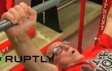 ซุบเปอร์ปู่ วัย 95 ปีสามารถยกน้ำหนัก 290 ปอนด์