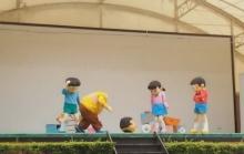 เด็กๆ ร้องไห้หนักมาก ไจแอนท์' หัวหลุดกลางเวที!!!(คนดูเป็นล้าน)