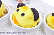 ไอศกรีมฟักทองญี่ปุ่น