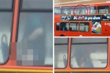 ทำไปได้!!โชเฟอร์ช่วยตัวเองบนรถบัส ถ่ายคลิปประจานซ่ะเลย!!