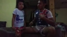 มาดูความน่ารักในการ RAP ของพ่อกับลูก