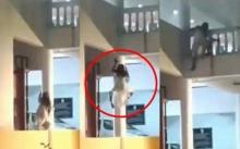โคตรหลอน!! กล้องจับสิ่งมีชีวิตปีนบ้านอย่างไว การเคลื่อนไหวดูไม่ใช่คน!! (คลิป)