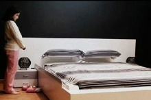 สเปนสุดเจ๋ง สร้างเตียงฉลาดล้ำสมัยเก็บผ้าปูที่นอน-หมอนเอง คนนอนไม่ต้องเสียเวลาทำ
