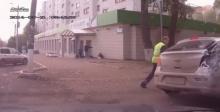การไล่ล่า ชนแล้วหนี ของตำรวจรัสเซีย