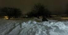 งดงาม!!! มาดูหิมะหนา 6 ฟุต ละลายภายใน 20 วินาที!