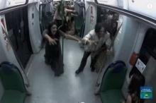 หัวใจจะวาย ฝูงซอมบี้บุกรถไฟใต้ดิน!!!