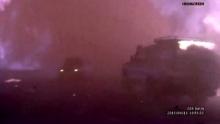 นาทีชีวิต คลิปขับรถฝ่าพายุไฟป่าสุดบ้าคลั่ง
