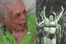 เมื่อคุณทวดวัย 102 ปี ย้อนดูตัวเองเป็นแดนเซอร์สมัยสาวๆ