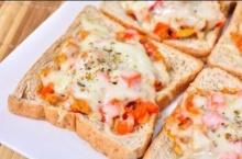 พิซซ่าโทสต์ Pizza Toast