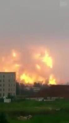 วินาทีระทึก! #โรงงานปิโตรเคมีระเบิด!!!