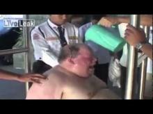 หนุ่มอ้วนเมาป่วนจนโรงแรมพัง