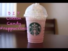 ลองมาทำ Cotton Candy เมนูเด็ดจากสตาร์บัค