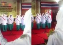 นักเรียนอินโดนีเซีย!! โชว์ร้องเพลงชาติไทย...ประทับใจสุดๆ