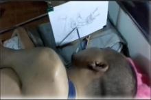 ชายพิการใจสู้ ใช้ปากจับดินสอสร้างงานศิลปะ ซึ้งจนน้ำตาไหล!!