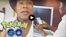 รัศมีแข โชว์วิธีไล่ล่าจับ Pokemon Go พีคมว๊ากก