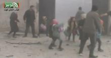 เปิดคลิปสุดสะเทือนใจ  ระเบิดซีเรียลงกลางโรงเรียน เด็กน้อยวิ่งหนีตายวุ่น