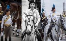 ชมคลิป พระองค์เจ้าสิริวัณณวรีนารีรัตน์ ทรงม้าซ้อมริ้วขบวนอัญเชิญพระบรมราชสรีรางคาร (คลิป)