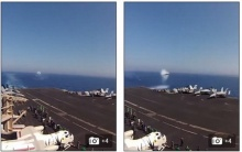 วินาทีทึ่ง! เมื่อเครื่องบินรบซิ่งทะลุขีดผ่านทัพเรือจนเกิด Sonic Boom