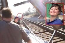 นาทีสยอง!! รถไฟชนกองถ่าย ตากล้องสาวดับ!!