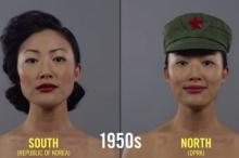 100 ปีนิยามความงาม ของสาวเกาหลี เหนือ และ ใต้