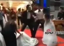 เมียน้อยอุ้มท้องในชุดงานแต่ง บุกตบเจ้าสาวกลางงานวิวาห์!!