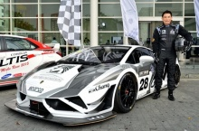 ชนม์สวัสดิ์  อัศวเหม กับบทบาทตัวแทนประเทศไทย ในรายการ Buriram Super GT Race