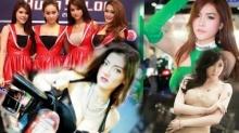 พริตตี้สาวสวยเซ็กซี่ Vs รถแต่งแดนซามูไร ในงาน Auto Salon 2015