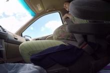 สุดยอดคุณแม่!!! ลุ้นสุดๆสาวคลอดลูกในรถ ระหว่างทางไปรพ.