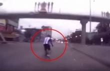 อุทาหรณ์!!! ปั่นจักรยานเกิดอุบัติเหตุ ดูแล้วจะเห็นจริงบางอย่าง??