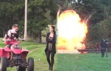 เมียหัวใจจะวาย!!สามีเล่นแรงจัดฉากว่าลูกน้อยถูกรถชนจนไฟลุก!!